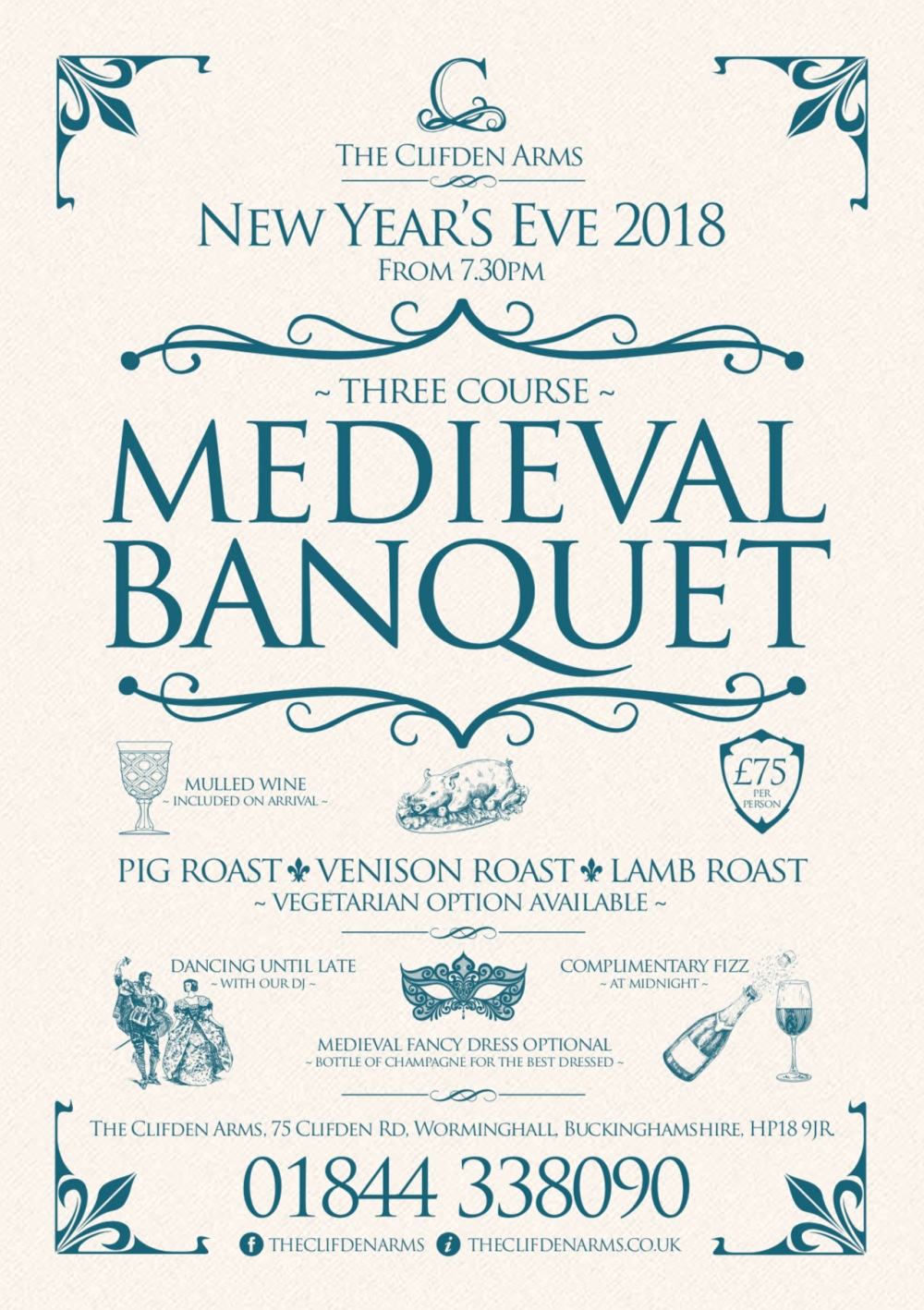 Clifden Arms New Year Eve